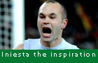 Iniesta the inspiration